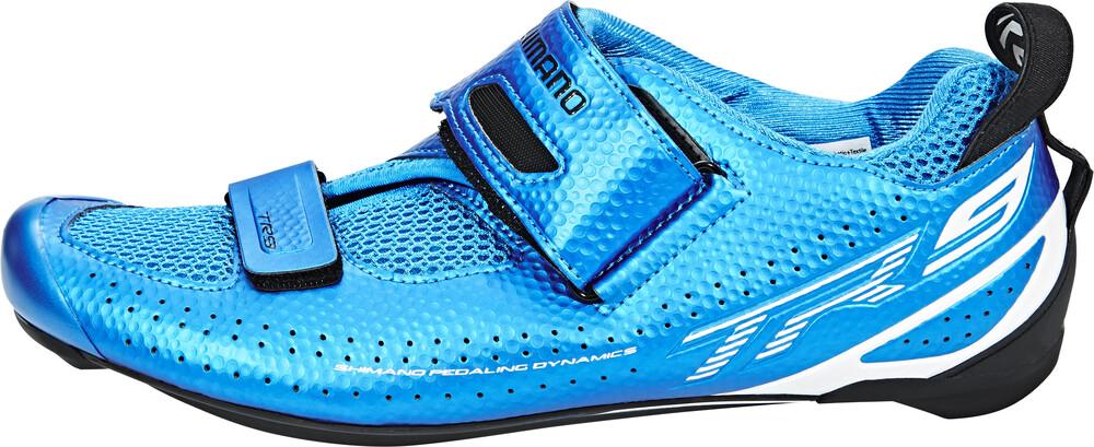 Bleu Chaussures Shimano Avec Des Hommes De Fermeture Velcro lnflBZVliO